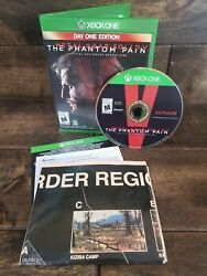 Metal Gear Solid V: The Phantom Pain Day One Edition Xbox One 2015 *Pre own $10.95
