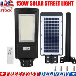 150W 936LED Solar LED Street Light Commercial Outdoor Waterproof IPX7 Road Lamp