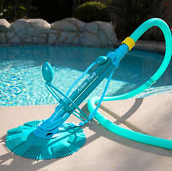 75037 Climb Wall Pool Cleaner Automatic Suction Vacuum Generic Blue $90.99