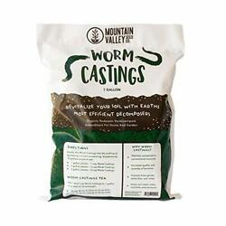 Earth Worm Castings– Organic Red Worm Compost Soil Amendment 3 Cubic Foot 6 Lbs $26.52