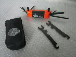 Harley Davidson Softail Touring FXD Dyna Sportster All in One Folding Tool $34.99