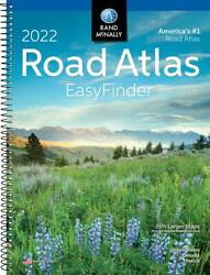 Rand Mcnally USA Road Atlas 2022 BEST Large Scale Travel Maps United States NEW $12.99