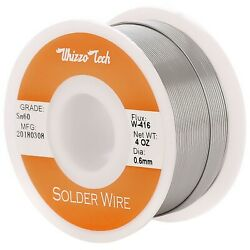 60 40 Tin Rosin Core Solder Wire For Electrical Soldering Sn60 Flux 0.6mm 100g $7.99