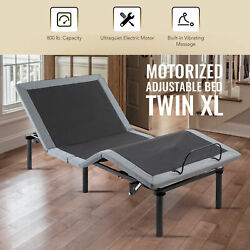 Adjustable Twin XL Bed Base with Remote Control USB Charging Station amp; Massage $407.65