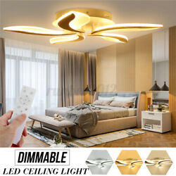 550 LED Ceiling Lights Fox Tail Indoor Ceiling Lamp Post Modern Chandeliers $104.26