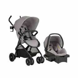 Evenflo Sibby Travel System with LiteMax 35 Infant Car Seat Mineral Gray $219.99
