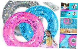 Inflatable Pool Floats 3 Pack Swim Rings for Kids Pool Tubes Toys Pool $21.25