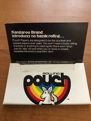 Rolling Papers Cigarette 2 pks POUCH No Spill Paper with a built in pouch $4.00