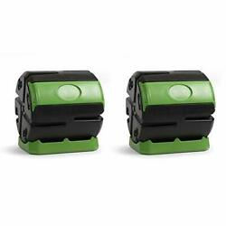 Hot Frog 37 Gallon Chamber Quick Curing Rolling Compost Tumbler Bin 2 Pack $314.86