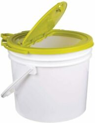 6 Qt Flow Troll Hydrodynamic Minnow Bucket Aerated Fishing Live Bait Container $14.00