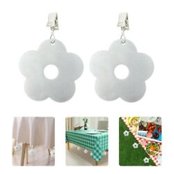 4pcs Durable Tablecloth Pendant Table Cover Weights for Picnic $9.82