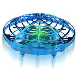 Hand Operated Mini Drones Kids Flying Ball Toy Birthday Gifts for Boys Blue $27.63
