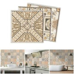20pcs Retro Self adhesive Mosaic Tile Wall Stickers For Kitchen And Bathroom $16.47