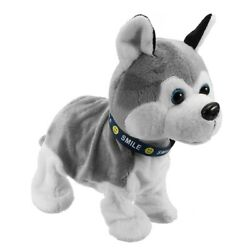 Interactive Dog Electronic Pet Animated Toy Control Walk Sound Husky Reacts $29.99