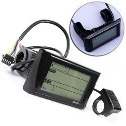 LCD Display Equipment For Electric Bicycle Meter Outdoor Pats Plastic Durable $48.75