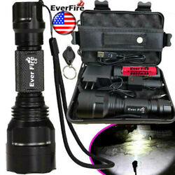 Tactical Military 350000LM T6 LED Flashlight Headlamp Torch Work Light Emergency $10.98