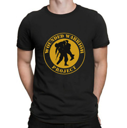 Wounded Warrior Project Pattern T Shirt Vintage Gift For Men Women Funny Tee $17.99