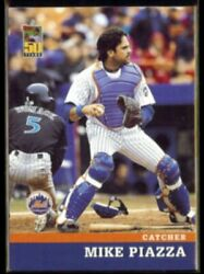 MIKE PIAZZA 2001 Post Insert #12 of 18. METS $4.00