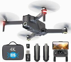 GPS Drone with 4K EIS Camera for Adults Beginner 5G Professional Drone WiFi FPV $222.22