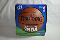 Spalding Indoor Outdoor NBA All Conference Basketball Official Size 29.5 NEW AP $20.99