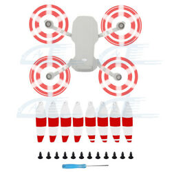 8pcs Quick Release Low Noise Propellers Blades White amp; Red For DJI Mavic Mini 2 $7.65