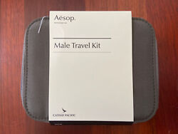 Cathay Pacific Airlines Aesop Male Travel Kit unopened $59.99