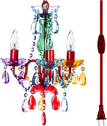 The Original Gypsy Color 4 Light Small Gypsy Chandelier For H 17.5quot; X W 15quot; Me $95.99