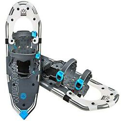 WildHorn Outfitters Lightweight Sawtooth Snowshoe for Men and Women 21 Arctic $125.99