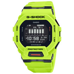 CASIO G Shock GBD200 9 Move Watch Power Trainer Bright Yellow Bluetooth Limited $150.00