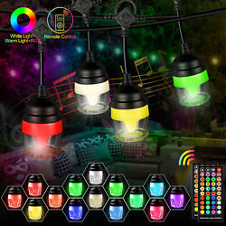 43FT Commercial Outdoor Hanging String Light 14 Edison Bulbs Party Patio Lights