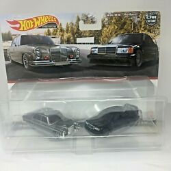 HOT WHEELS 2021MERCEDES BENZ 280 SEL AND 190E 2.5 TARGET EXCLUSIVE 2 PACK SG560 $22.22