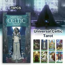 78 Cards Light Seer#x27;s Tarot Cards Deck Board Game English Electronic Guidebook $10.99