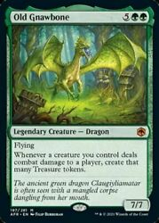Old Gnawbone Damp;D Adventures in the Forgotten Realms MTG $25.94