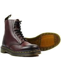 NIB Dr. Martens Unisex Adult Pascal Combat Boot Cherry Red Antique Temperley $99.00