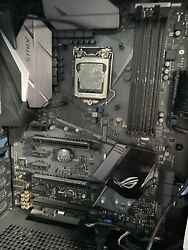 i7 7700k and asus z270e motherboard $415.00