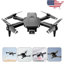 FPV Wifi Drone Quadcopter With HD Camera Aircraft Foldable Selfie Toy Adjustable $32.47