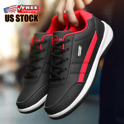 Men#x27;s Casual Shoes Running Sports Outdoor Walking Tennis Training Sneakers Gym $25.64