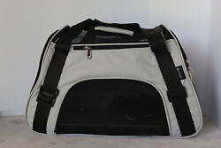 Pet Carriers for Small Cats and Dogs 17x7.5x11 PPGOO Grey $20.00