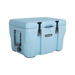 55 Quart High Performance 7 Day Ice Retention Cooler Portable Chest Box Blue $99.99