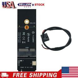 M.2 M Key to NGFF A E Key Slot PCIe WiFi Card Adapter for AX200 9260AC $11.15