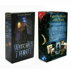 Witches Tarot Deck 78 Cards Divination Prophet Cards Family amp; Party Playing $10.99