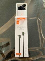 MCDODO USB Lightning Cable iPhone iPad Charging Cable 3M LED Right Angle $7.99