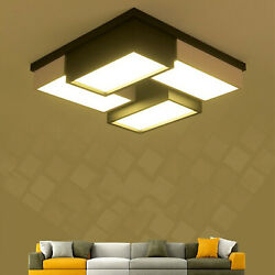 Modern LED Acrylic Ceiling Lamp Pendant Light Chandelier Home Fixture w Remote $89.00