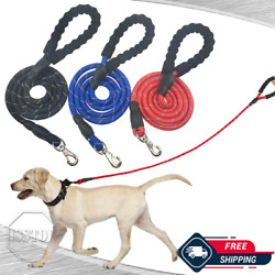 5 FT Heavy Duty Dog Leash With Comfortable Padded Handle Reflective Dog leashes $6.84