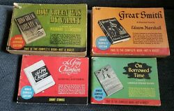 Lot of 4 Armed Services Editions On Borrowed Time Watkin The Gray Champion plus $29.99