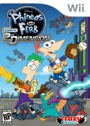 Phineas And Ferb: Across The Second Dimension Wii Game $3.47