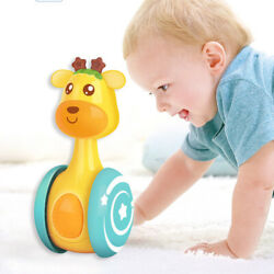 Baby Rattles Tumbler Doll Toy Bell Music Learning Education Cute Toys USA $8.76