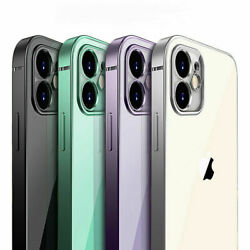 SHOCKPROOF Plating clear Case For iPhone 13 12 11 Pro MAX Mini XR XS X 7 8Cover $6.75