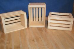 small wooden crate wood crate wooden storage crate small crate small storage $15.00
