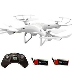 Cheerwing CW4 RC Drone with 720P HD Camera for Kids and Adults RC Quadcopter $61.09